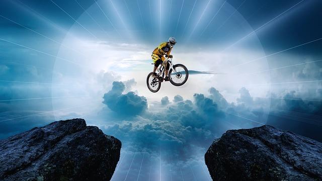 skoky na kole